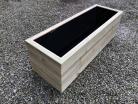 Cuboid Decking Planter 500mm x 400mm 3 Tier