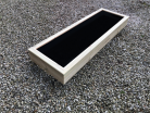 Cuboid Decking Planter 1100mm x 400mm 1 Tier