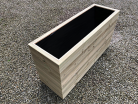 Cuboid Decking Planter 1200mm x 400mm 5 Tier