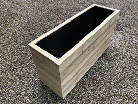 Cuboid Decking Planter 1900mm x 400mm 5 Tier