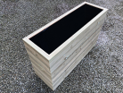 Cuboid Decking Planter 800mm x 400mm 6 Tier