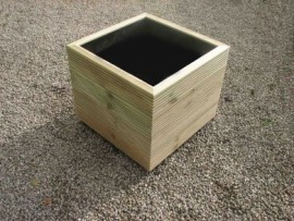 Cube Decking Planter 700mm x 700mm 4 Tier