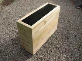 Cuboid Decking Planter 1000mm x 300mm 5 Tier