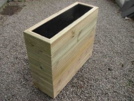 Cuboid Decking Planter 1300mm x 300mm 6 Tier