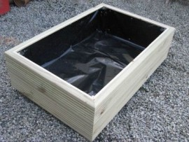 Cuboid Decking Planter 900mm x 500mm 2 Tier
