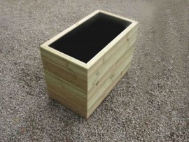 Cuboid Decking Planter 1400mm x 500mm 5 Tier