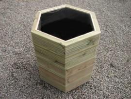 Hex Decking Planter 700mm x 700mm 5 Tier