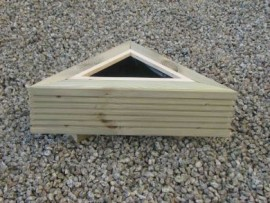 Trilogy Decking Planter 300mm x 300mm 1 tier (Small)